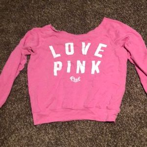 Scoop neck size medium PINK sweater